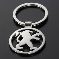 Брелок на ключи с логотипом - Peugeot