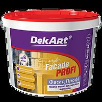 """Краска водно-дисперсионная фасадная Facade Profi (TM """"DekArt"""") 20 кг (белая)"""