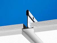 Полускрытая подвесная система. Панели легко демонтируются.Ecophon Focus E
