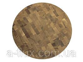 Дошка обробна торцева кругла Кедр 350*35 мм