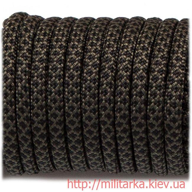 Паракорд 550 black snake 308 olive with black