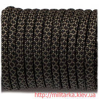 Паракорд 550 black snake 308 olive with black