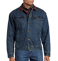 джинсовая куртка Wrangler lined denim jean jacket