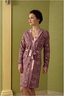 Домашний халат Shato - 424 (женская одежда для сна, дома и отдыха, домашняя одежда, ночная)