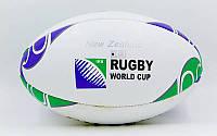 Мяч для регби GILBERT RBL-1 (кожа, р-р 12in, №5)