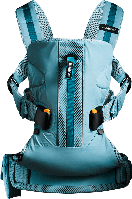 Рюкзак кенгуру Babybjorn One Outdoors, бирюзовый