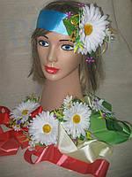 Лента с ромашкой и мелкими цветочками (35/30), фото 1