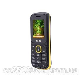 Мобильный телефон Nomi i183 Black-Yellow