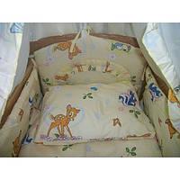 Набор балдахин,защитные бортики,одеяло и подушка