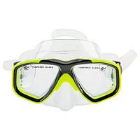 Маска детская для плавания и снорклинга Dolvor Dolvor DRA-230J (желтый)