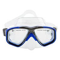 Маска детская для плавания и снорклинга Dolvor Dolvor DRA-230J (синий)