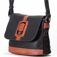 Женская сумка - клатчик Giorgio Ferrilli черная, фото 1