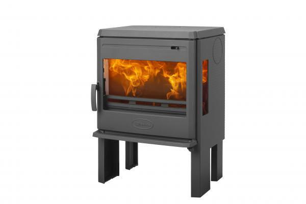 Чугунная печь Dovre 360 CB3 с боковым стеклом  - 7 кВт