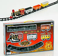 Железная дорога, свет, звук
