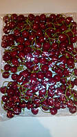 Искусственная ягода-вишня двойная
