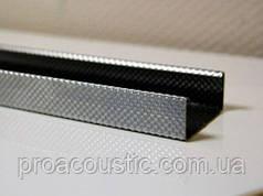 Глухий металевий профіль ПС 0,6 мм