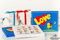 Шоколадный набор Love (12 шоколадок)