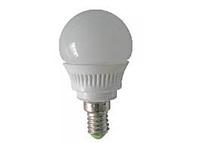 Лампа Lemanso LED G45 E14 4,2W 380LM 6500K матовая / LM323 шар