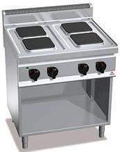 Плита электрическая Bertos E7PQ4M+2P400