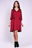 Повседневное романтическое женскео платье ассиметричной длины, фото 2