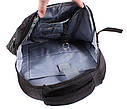 Рюкзак текстильный городской 303292 черный, фото 6