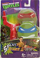 Набор фигурок -липучек с рогаткой и мишенью Nickelodeon -  Splat Strike, TMNT, Tech4Kids