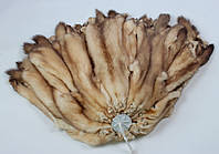 Шкуры соболя золотого российского, выделанные, шубные наборы