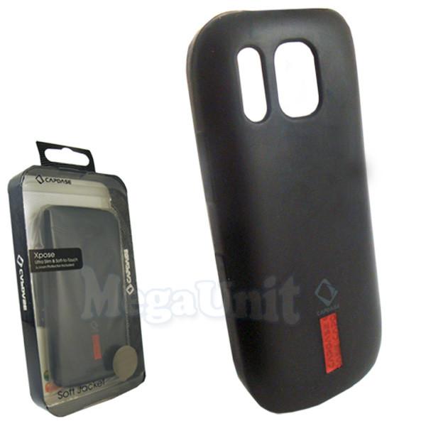 Capdase. Nokia Asha 202. Силиконовый чехол (+пленка)