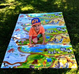 Детские развивающие игровые коврики