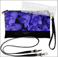 Женская сумочка клатч - нежные цветки
