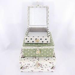 Набор 3-х шкатулок из коллекции Париж великолепный подарок для любимой девушки на 8 марта купить