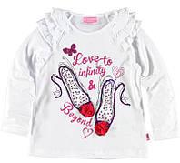 Реглан для девочки LC Waikiki белого цвета с туфельками