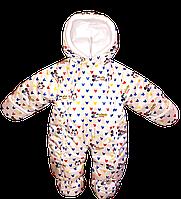 """Демисезонный комбинезон """"Микки Маус"""" для новорожденного 0-6 мес"""