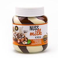 Шоколадно - молочная паста со вкусом ореха Nuss Milk 400гр., фото 2