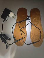 Стельки,Электростельки с подогревом 36-43 размеры