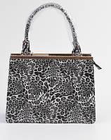 Женская сумка 201302 лео черно-белая.Купить сумки  дёшево в Украине.