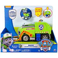 Перерабатыающий транспорт Рокки (звук, свет) - Paw Patrol,  Rocky`s recycling truck, Spin Master