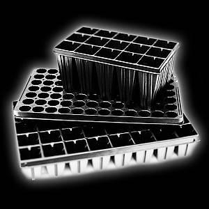 Кассеты для рассады 33 ячейки 52х52х65 (Парничек, Мини теплица)
