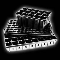 Кассеты для рассады 44 ячейки 40х40х55 (Парничек, Мини теплица)