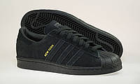 Мужские кроссовки Adidas Superstar 80s City Pack Black New York
