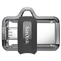USB флеш накопитель SANDISK 128GB Ultra Dual Drive M3.0 USB 3.0 (SDDD3-128G-G46)
