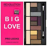 Палетка теней - Makeup Revolution Pro Looks Big Love (Оригинал)