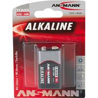 Батарейка Ansmann Крона Alkaline Red 6LR61 * 1 (1515-0000)