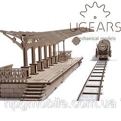 Механический 3D-пазл UGEARS - Перрон