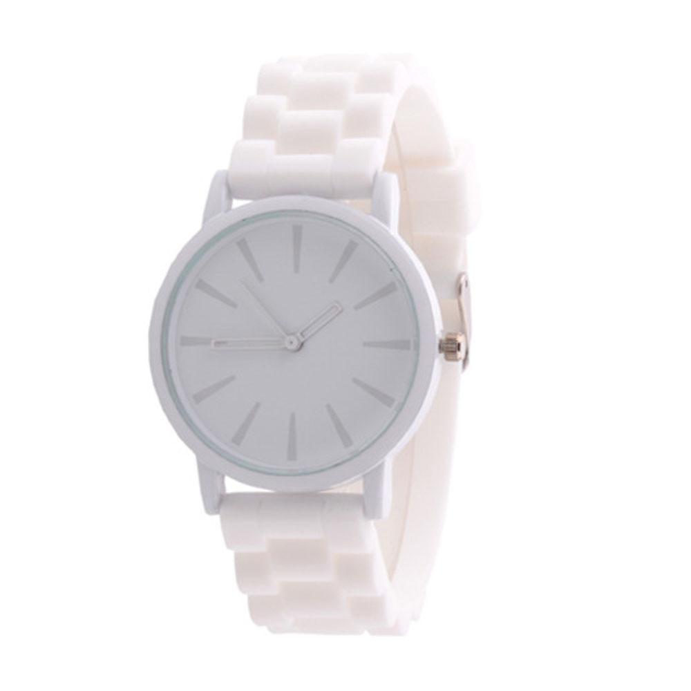 91c71b9f Оригинальные модные женские часы ,силиконовый ремешок,белые, цена 125,58  грн., купить Украина — Prom.ua (ID#472553949)