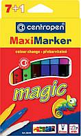 """Фломастеры """"Centropen""""  8 цветов """"Magic Maxi"""" №8649"""