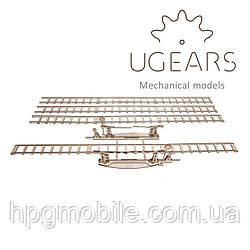 Механический 3D-пазл UGEARS - Рельсы с переездом