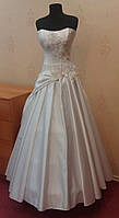 Стильное новое белое свадебное платье, размер 38-42
