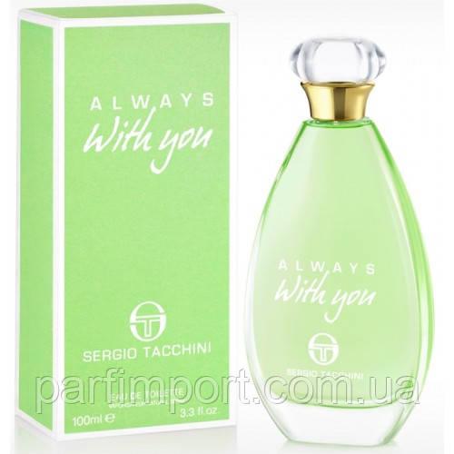 Sergio Tacchini With you Always EDT 100 ml туалетная вода женская (оригинал подлинник Италия)