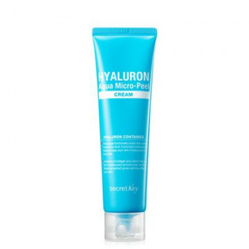 Глубокоувлажняющий крем с гиалуроновой кислотой Secret Key Hyaluron Aqua Micro-Peel Cream, 70 мл